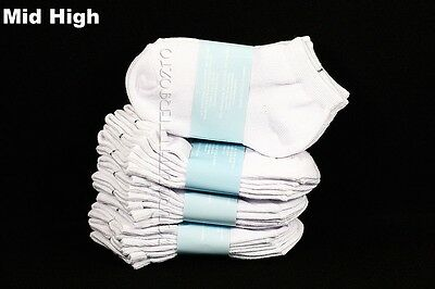 Big Kid Ankle Socks Lot Toddler Boy Girl School Black White Gray0-12 2-3 4-6 6-8 3