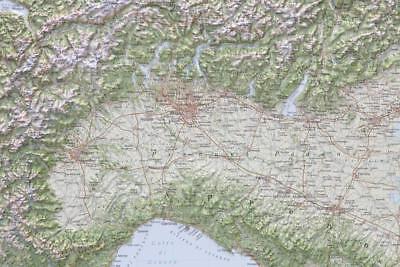 Portogallo Cartina Geografica Politica.Le Alpi Carta Geografica Fisica In Rilievo 95x65 Cm Senza Cornice Mappa Eur 79 95 Picclick Fr