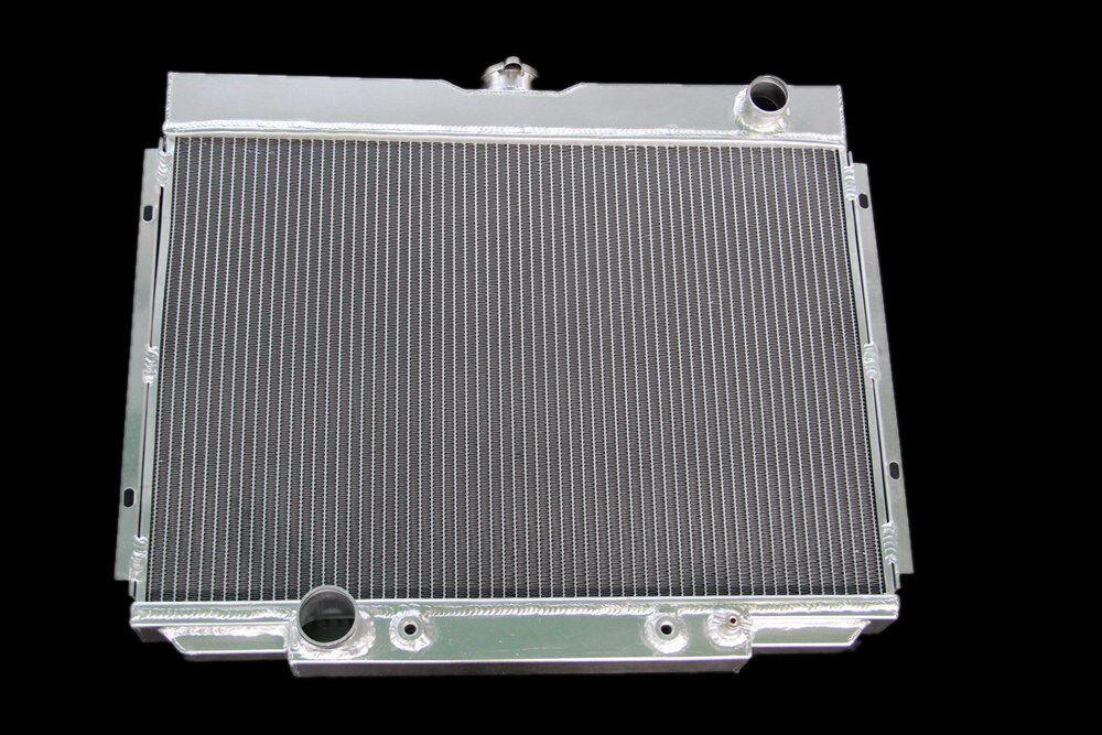 "FOR 67-70 FORD MUSTANG//FAIRLANE//RANCHERO V8 3 ROW 24/""Wide CORE ALUMINUM RADIATOR"