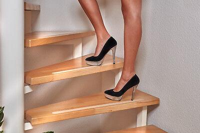 anti rutsch streifen f r treppen transparent selbstklebend. Black Bedroom Furniture Sets. Home Design Ideas