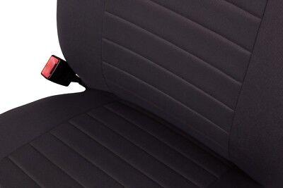Sitzbezüge Sitzbezug Schonbezüge für VW New Beetle Schwarz Modern MP-1 Set