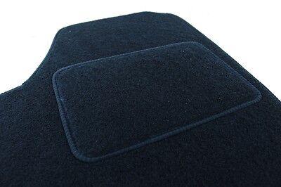 Velours Fußmatten Autoteppiche mit LOGO für PEUGEOT 207 2006-2012 - Bef. rund