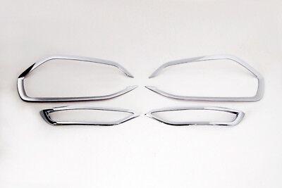 Zubehör für Hyundai TUCSON ab 2015 CHROM NEBELLEUCHTEN Schlussleuchten Rahmen