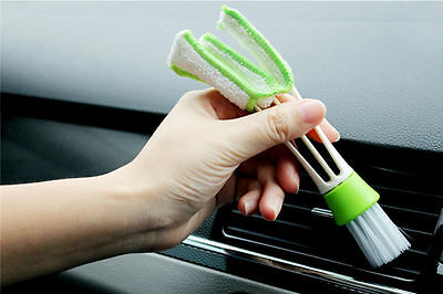 Mini Clean Car Indoor Air-condition Brush Tool Car Care Detailing For all car