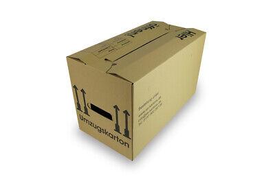 PROFI doppelter Boden+Griffe AS20002 35 neue Umzugskartons 2 wellig 40 kg
