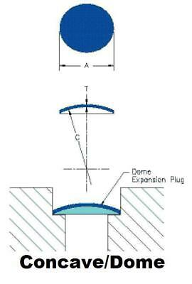 "Freeze Dish Welch Core Plug 12mm 16mm 5/8"" 19mm 3/4"" 22mm, 7/8"" 25mm 1"" 25.4mm"