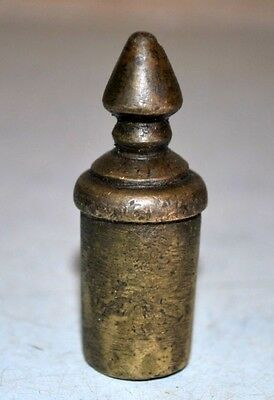 Old Vintage Rare Brass Hand Crafted Door Knob Decorative Drawer Cabinet Handle 6
