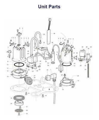 KitchenAid Artisan 5KES100 Coffee 16x O Ring Full Service kit + Group Gasket Opv 4