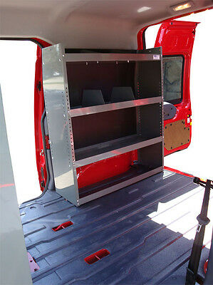 VAN SHELVING STORAGE for Chevy City Express, Nissan NV200 - 32