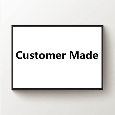 personalized Custom Made Canvas Wall Art Painting Poster Unframed 4