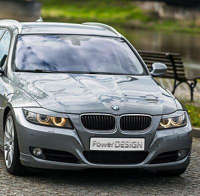 Eyebrows for BMW 3 E90 E91 2005-2012  headlight eyelids lids ABS Plastic 3