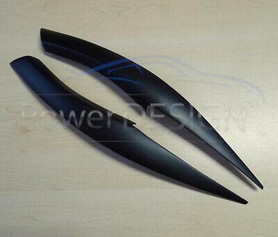 Eyebrows for BMW 3 E90 E91 2005-2012  headlight eyelids lids ABS Plastic 5