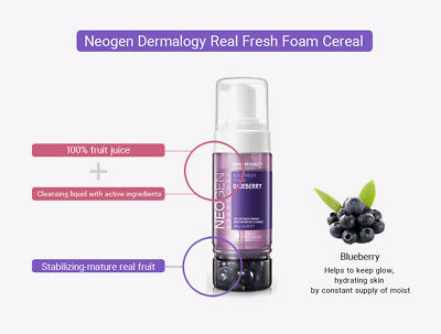 [NEOGEN] Dermalogy Real Fresh Foam 160ml 7