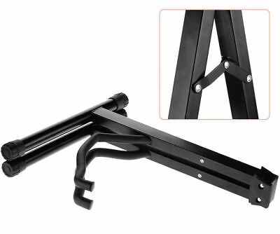 Portable Folding Guitar Stand Electric Acoustic Bass GIG Floor Rack Holder A / B 6