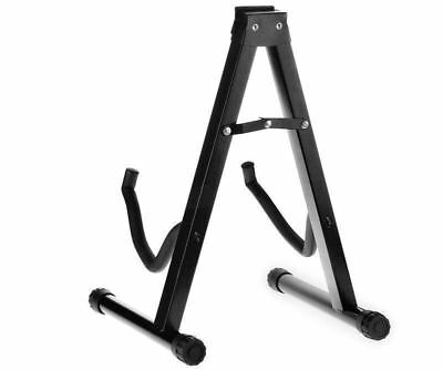 Folding Guitar Stand Floor Rack Electric Acoustic Bass Gig Holder AU 6