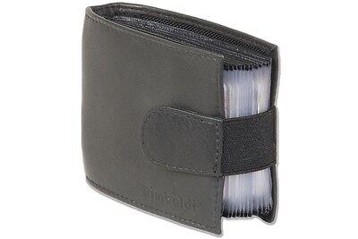 Kartenetui Kreditkartenetui Visitenkartenetui für 20 Karten schwarz Leder Neu 4