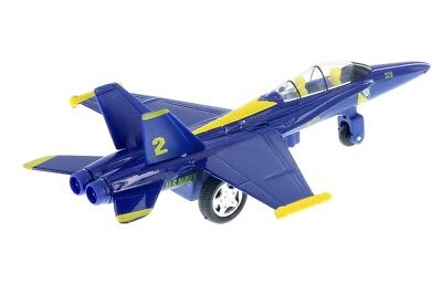 """New 9.5/"""" diecast model F//A-18 Hornet US Navy Blue Angels fighter jet NUMBER VARY"""