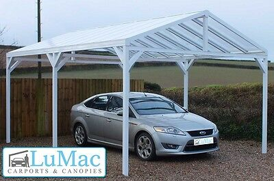 Free Standing Carport Boat Shelter Swimming Pool Hot Tub Cover Awning Super Car Garden & Patio