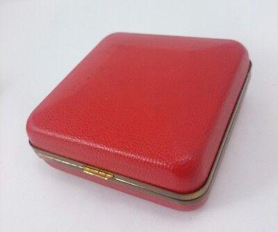 Vintage SETH THOMAS PHINNEY WALKER Light Alarm Portable Clasp Pocket Clock Pair 12