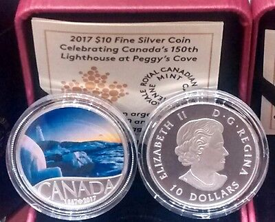 2017 $10 CANADA 150TH SILVER PROOF NGC PF70 MATTE FR LIGHTHOUSE AT PEGGY/'S COVE