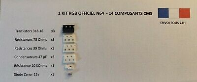 "Kit Mod RGB ""Officiel"" Nintendo 64 (N64) 2"