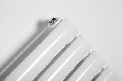 Vertical Designer Radiator Oval Column Tall Upright Central Heating Radiators 6