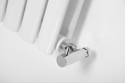 Vertical Designer Radiator Oval Column Tall Upright Central Heating Radiators 7