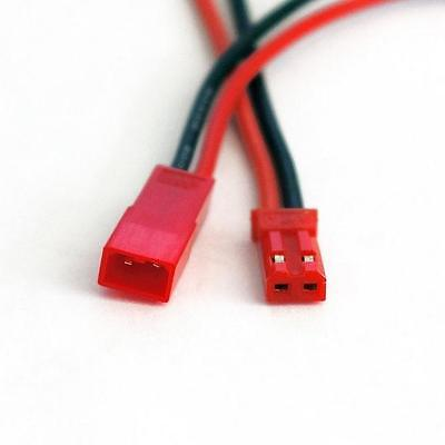 10 Pairs 2-Pin JST Plug Battery Connector Cable Wire Male and Female 4