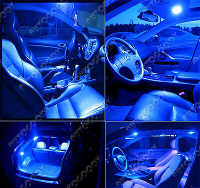 14 X Premium Blue Led Lights Interior Package For Jeep Cherokee 2017 2019 Tool