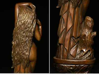Antique Beautiful Naked Woman / Bronze /  size w12 h44 [ cm ] 3.36kg 6