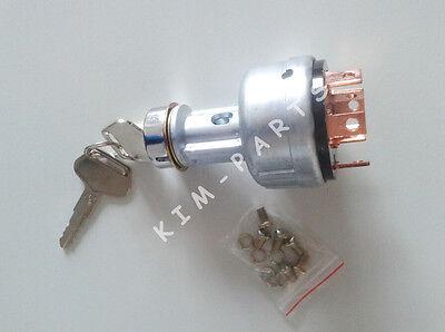 New KOMATSU PC200-2//3//5 Excavator Ignition Switch With Two Keys