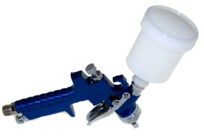 Mini HVLP Air Paint Spray Gun Auto Car Detail Touch Up Sprayer Gravity New tools 3