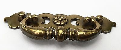 """Antique Hardware Brass Chippendale French Prov. Vintage Drawer Pull 2.5""""center 5"""