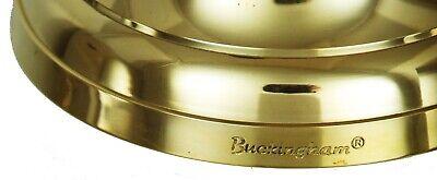 "Buckingham Solid Brass Large Ship Bell Pub Door Last Order  School Dinner 7"" 2"