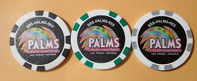 Palms Hotel Casino Las Vegas Nevada No Limit Hold'em Poker Complete Set Of Chips 2