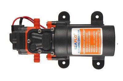 Pompa Autoclave Acqua 12V. - 4,0 Lt/ Min Barca Camper Seaflo Con Pressione 4.8 4