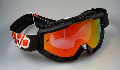 100 /% Prozent Strata Ice Age Brille Motocross Enduro Downhill MTB Cross BMX Quad