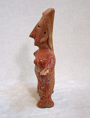 Pre-Columbian JALISCO STANDING FEMALE FIGURE, ca. 300 BC - AD 300 2