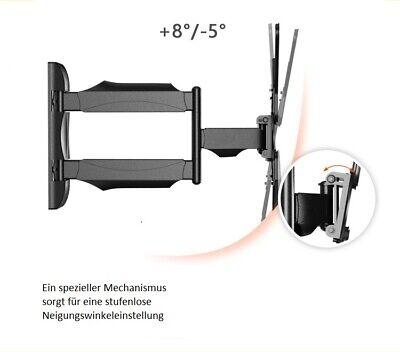 P4 Monitor TV Wandhalterung Wandhalter Halter drehbar 32-55 schwenkbar kipbar 5