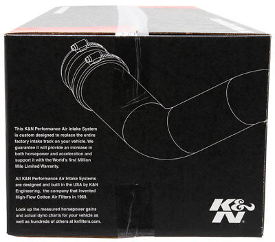 K/&N Filters 63-2606 63 Series Aircharger Kit Fits 18-19 Mustang