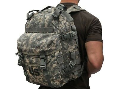 Us Military Army Acu Ucp Molle Ii Patrol Assault Pack 3-Day Mission Backpack Gc 5