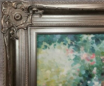 """5/"""" Antique Gold Leaf Ornate photo Oil Painting Wood Picture Frame 801G 30x40"""