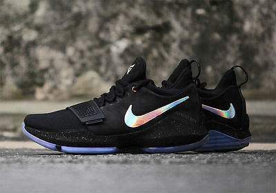 946b1353750d paul george nike pg 1 shining black multicolor new with box