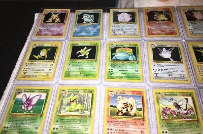 NEAR MINT 100/% COMPLETE BASE SET 2 POKEMON CARD COLLECTION 130//130 CHARIZARD