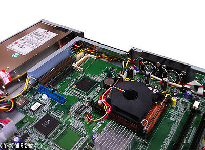 """1U 19"""" Rackmount Firewall Netzwerk Sicherheits Barebone. Mit 4,8/12 LAN"""