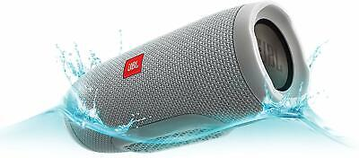 JBL Charge 3 Portable IPX7 Waterproof Bluetooth Speaker Gray *Authorized Dealer 2