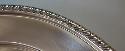 Empire Sterling Silver Bread and Butter Plate Gadroon Style Border (#2746) 5