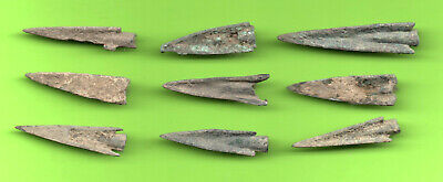 Lot of 9 Sarmatia OLBIA Cast Proto Money ARROW 5th BC Ukraine Russia 65 2