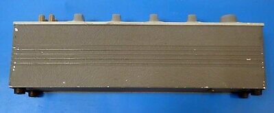 GENERAL RADIO 1412-BC DECADE CAPACITOR 15pF TO 1.11115uF GREAT FOR A TEST LAB 3