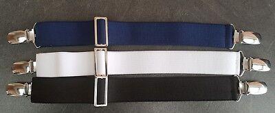 NEU von CLIP.HO  ~  secret belt ~ schwarz, dunkelblau, weiß ~ one size 4